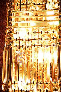 水晶灯背景