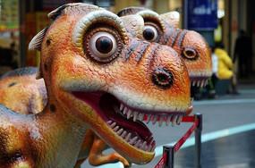 卡通恐龙模型