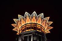 上海威斯汀大酒店夜景