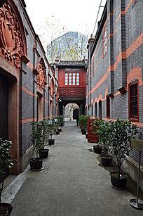 上海一大中共会址走廊