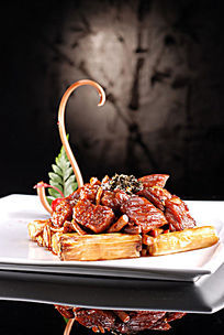 京葱烧美国牛肉