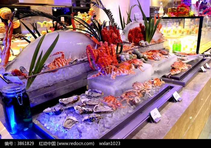 大龙虾新鲜海鲜大汇