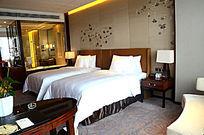 酒店高档高级现代中式客房