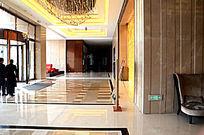 星级酒店大厅装饰实景