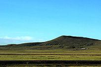 西藏蓝天草原大气山河