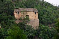 废弃的中原农村老民宅