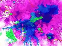 抽象印花 抽象图案 抽象油画