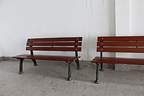 旅游景点景区铁长椅子