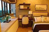 田园风的卧室装修