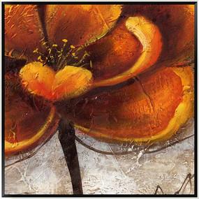 油画花卉 装饰画 无框画 抽象画