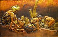 木板艺术雕刻