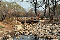 小木桥河滩