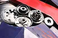 金属质感齿轮
