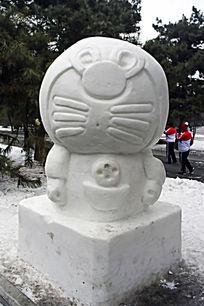 小叮当雪雕