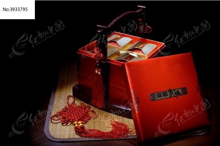 中式礼盒图片