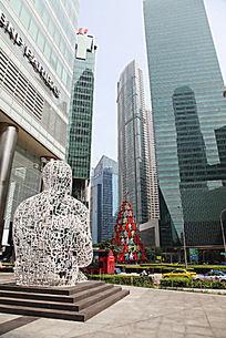 城市广场纪念雕塑