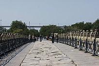 卢沟桥桥面石板