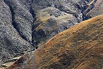 山峰峡谷植被