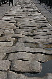 卢沟桥石头桥面