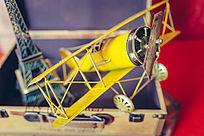 手工復古飛機模型