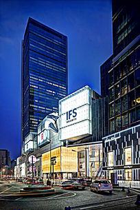 国际金融中心夜景