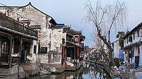 江南特色的古镇水乡