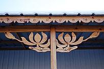 木刻楞过廊木刻装饰图案