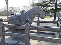 马雕刻白马寺