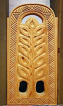 蒙古族风格的木雕图案