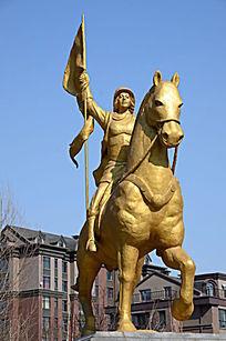 胜利人物雕像