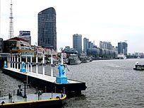 上海黄浦江景色