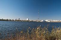 城市水上公园及水边建筑