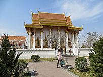 泰国建筑神殿