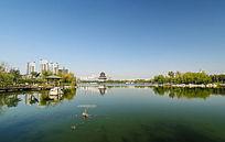 南池公园碧水蓝天