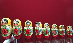 俄罗斯民间工艺品套娃