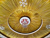 蒙古大帐穹顶装饰