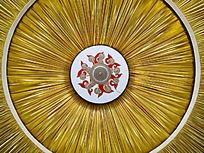 蒙古族大帐的穹顶