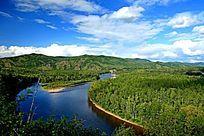 大兴安岭森林河