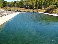 室外温泉游泳池