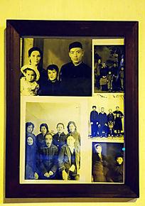 华俄后裔民居摆设相框相片