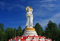 中国最北的观音圣像