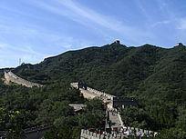八达岭长城山景
