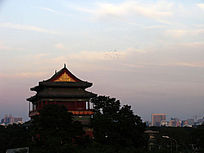 北京历史建筑鼓楼