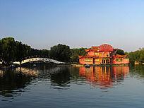 赤峰水上公园风景