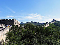 古老的八达岭长城