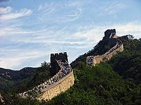 历史建筑八达岭长城