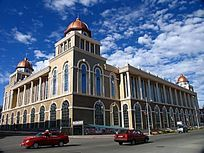 满洲里俄罗斯风格的建筑