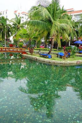 南中国大酒店室外泳池