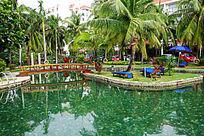 南中国大酒店室外游泳池