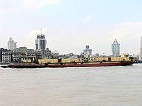 上海黄浦江货运船只